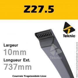 Courroie Z27.5 - Teknic