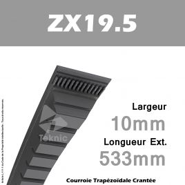 Courroie ZX19.5 - Continental
