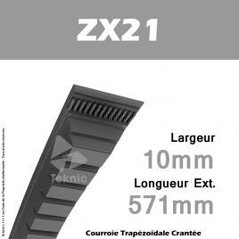 Courroie ZX21 - Continental