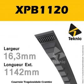 Courroie XPB1120 - Teknic