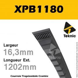 Courroie XPB1180 - Teknic