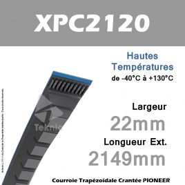 Courroie XPC2120 - Continental Pioneer