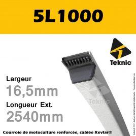 Courroie 5L1000 - Teknic