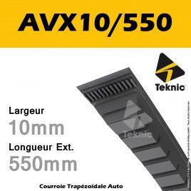 Courroie AVX10/0550 - Teknic