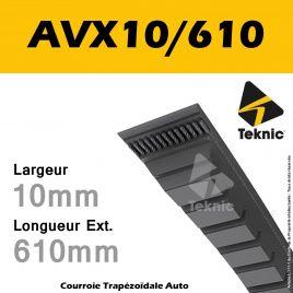 Courroie AVX10/0610 - Teknic
