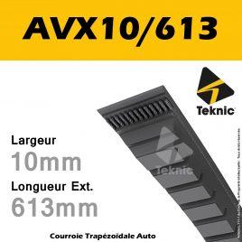 Courroie AVX10/0613 - Teknic