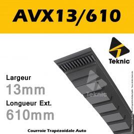 Courroie AVX13/610 - Teknic