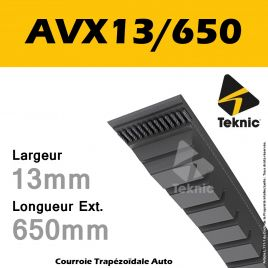 Courroie AVX13/650 - Teknic