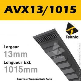 Courroie AVX13/1015 - Teknic