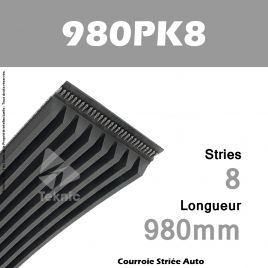Courroie Poly-V Auto 980PK8 - Continental
