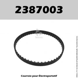 Courroie Virutex 2387003