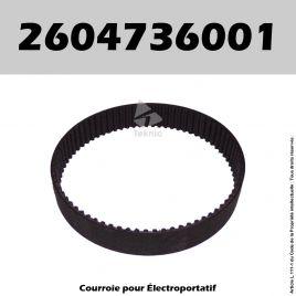 Courroie Bosch 2604736001