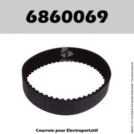 Courroie Ryobi 6860069