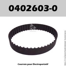 Courroie Elu 0402603-0