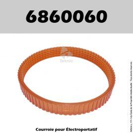 Courroie Ryobi 6860060