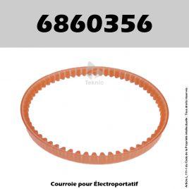 Courroie Ryobi 6860356