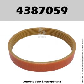 Courroie Virutex 4387059