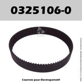 Courroie Elu 0325106-0