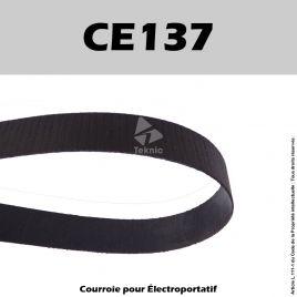 Courroie KITY Degauchisseuse CK26 - 635 - 636 et Toupie 626