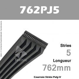 Courroie Poly-V 762PJ5 - Continental