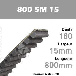 Courroie Dentée 800 5M 15