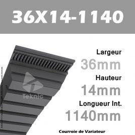Courroie de Variateur 36X14-1140 Li