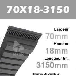 Courroie de Variateur 70X18-3150 Li