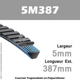 Courroie Polyflex 5M387