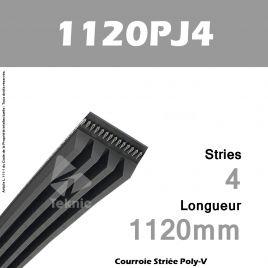 Courroie Poly-V 1120PJ4