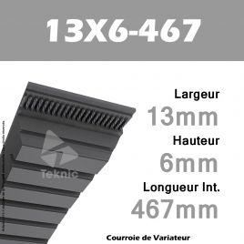Courroie de Variateur 13X6-467 Li