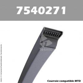 Courroie MTD 7540271