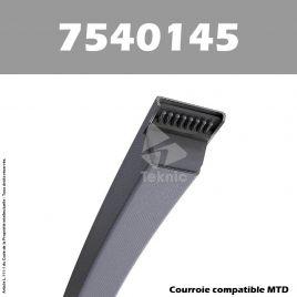 Courroie MTD 7540145