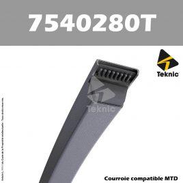 Courroie MTD 7540280 TEKNIC