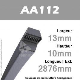 Courroie Hexagonale AA112 - Continental