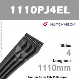 Courroie Flexonic 1110 PJ 4 EL - Hutchinson