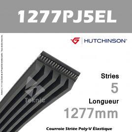 Courroie Flexonic 1277 PJ 5 EL - Hutchinson