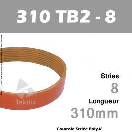 Courroie 310-TB2-8