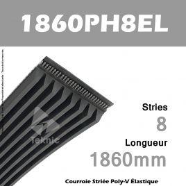 Courroie Flexonic 1860H8EL