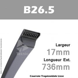 Courroie B26.5 - Continental