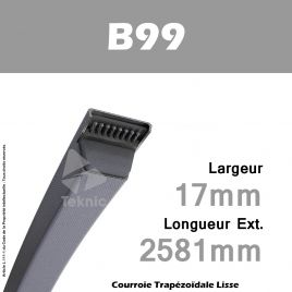 Courroie B99 - Continental