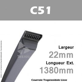 Courroie C51 - Continental