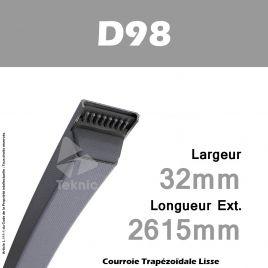 Courroie D98 - Continental