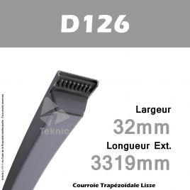 Courroie D126 - Continental