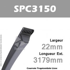Courroie SPC3150 - Continental