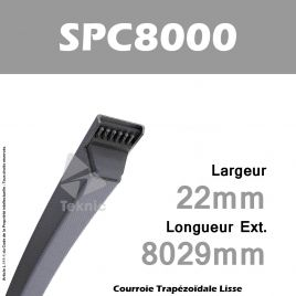 Courroie SPC8000 - Continental