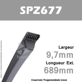 Courroie SPZ0677 - Continental