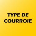 TYPE DE COURROIE