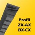 ZX, AX, BX, CX