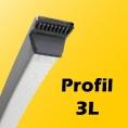 3L - 9,5mm x 5,5mm