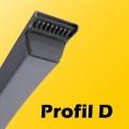 D - 32mm x 19mm
